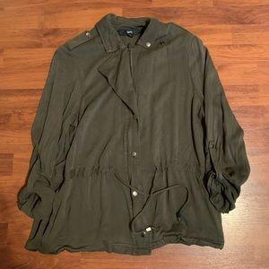 Light weight olive jacket